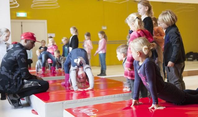 Op vrijdag 15 maart zijn er de hele dag kunstlessen bij het Pieck.