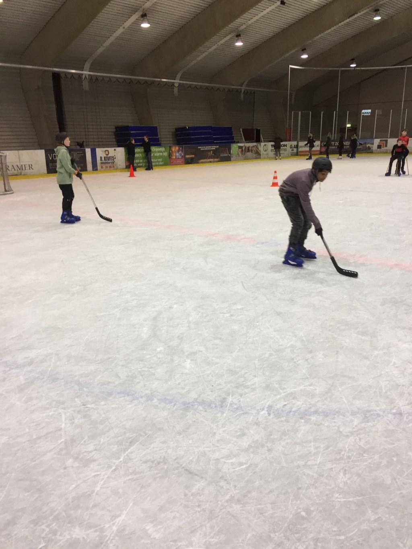IJshockey is niet makkelijk maar wel leuk! Foto: Yeb Heerema © Persgroep