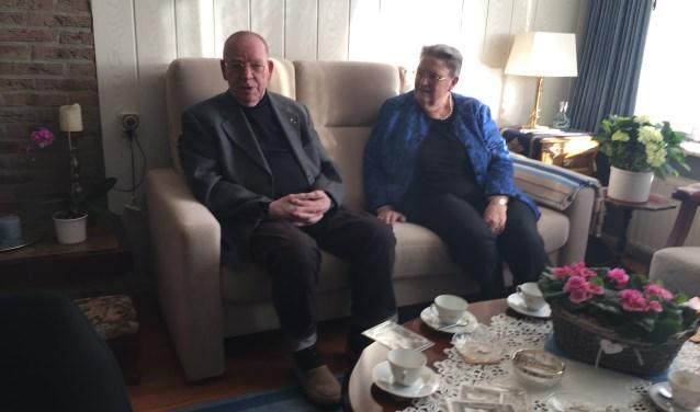 De heer en mevrouw Potuijt-Vonk zijn op 11 februari 1959 getrouwd in Hazerswoude.Foto: Elen van Dilst