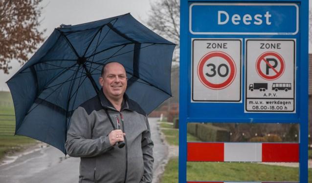 Erik van den Broek wil meer sociale samenhang in Deest. (Foto Berco Buter)