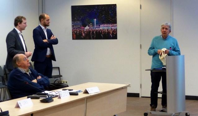 Wethouders Bal en Struijk installeren officieel Adviesraad Sociaal Domein. Foto: Roel van Deursen