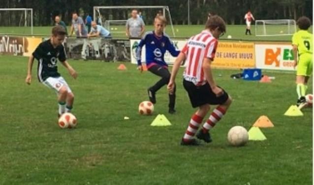 In Bleiswijk kunnen kinderen het trainingsweekend volgen.