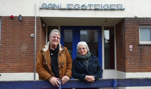 Gerda Nagtegaal (links) en Anneke Klijn. (Foto: Eline Lohman)