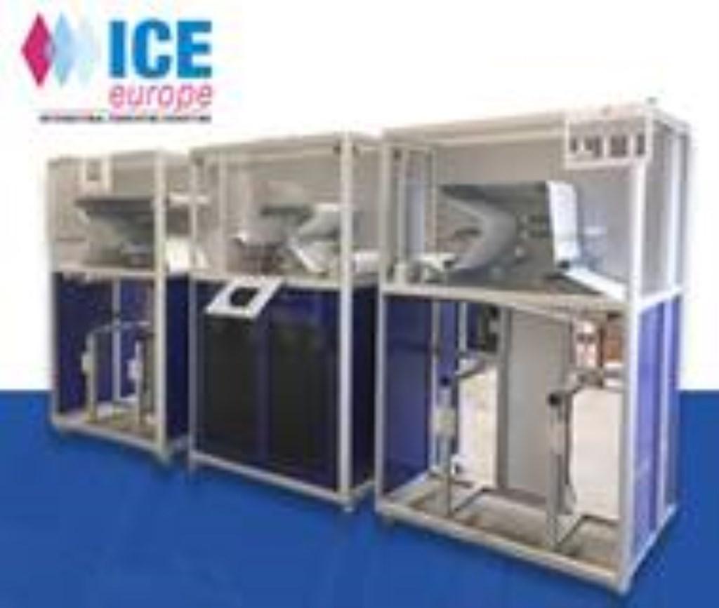 De simulatie in ontwikkeling en voor de Kick-off party gereed voor demonstratie. Ook aanwezig op de ICE Europe op stand A5.1534.  © Persgroep