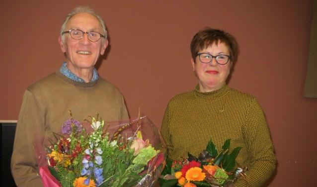 Henk Pasterkamp en Dinie Haanstra.