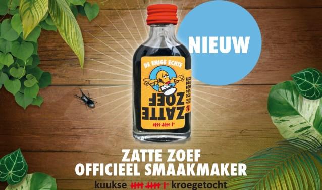 Zatte Zoef is ontwikkeld via een unieke samenwerking tussen de Commissie Kuukse elfkroegetocht en de Cuijkse kasteleins.