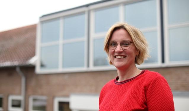 """Roos: """"De kracht van de school in Zutphen en Vorden is de aandacht voor de leerlingen."""" (foto: Feikje Breimer)"""