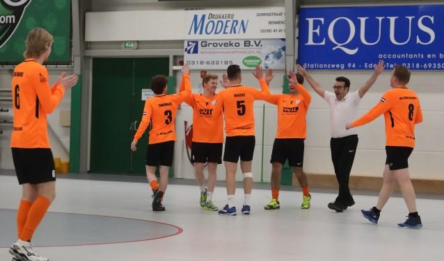 Het Nederlands team bestaat uit jonge mannen allen afkomstig uit Bennekom en omgeving. (foto: Sport-Shots.nl / Erik Mulder)