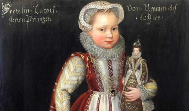 Het portret van Louise Juliana