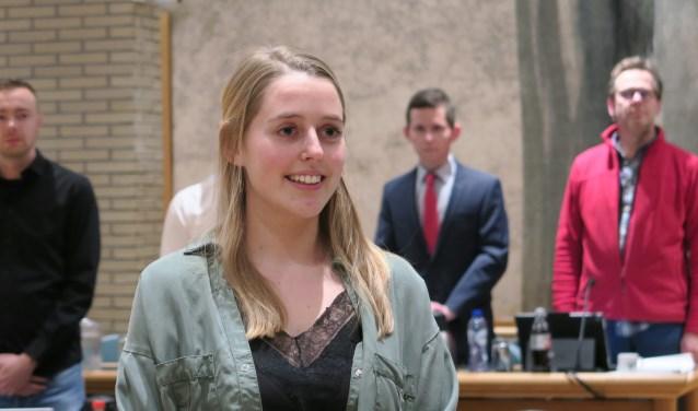 Fleur Stip Nieuw Raadslid Voor 18plus Het Zuiden Ridderkerk