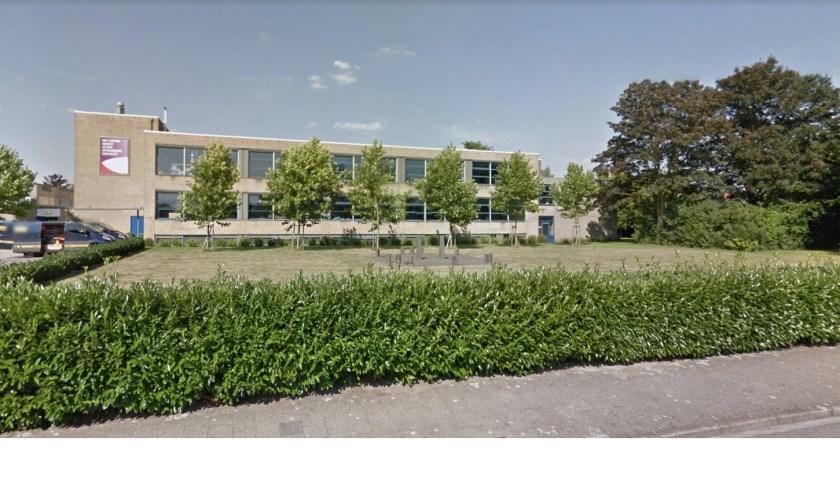 Hier moet de nieuwbouw van Het Assink lyceum gaan komen als het aan de school en het college van B&W ligt.