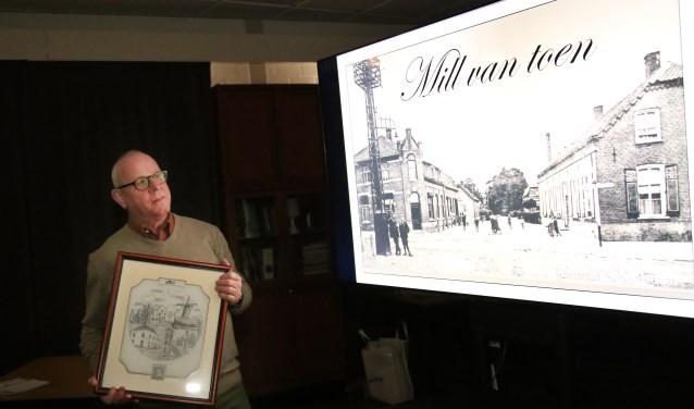 """Toon Willems: """"Ik ben doorgegaan met het verzamelen van foto's van Mill. (foto Marco van den Broek)"""