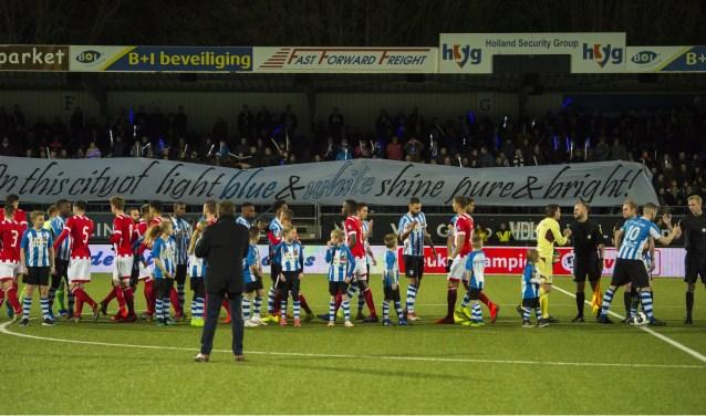 Na vijf competitieoverwinningen ging de ploeg van Nascimento weer eens onderuit. Jong PSV bleek een maatje te groot voor de Blauw-Witten.