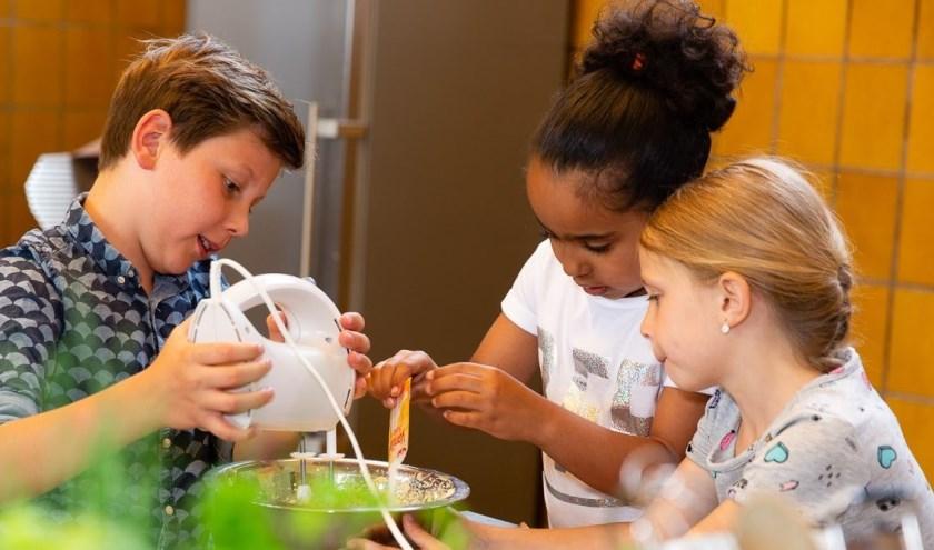 'Gezond en Lekker koken' is gemaakt door en voor kinderen.