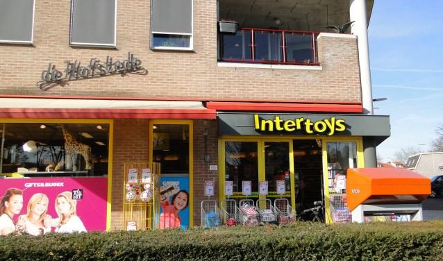 De vestiging van Intertoys aan de Hoofdstraat in Voorthuizen. (Foto: Leo Polhuys)