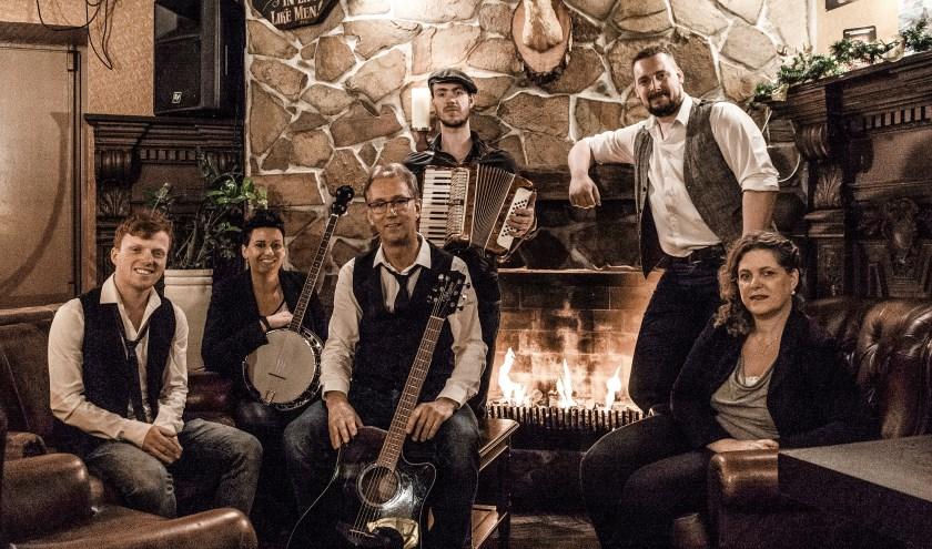 De folkband Lads 'n Lassies