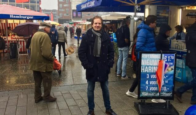 """Marc ten Barge, D66: """"Ik mis juist een gezamenlijk belang. Het gaat er namelijk niet om wat je vindt maar wat jíj gaat doen."""" Foto: D66 Hengelo"""