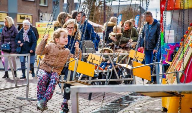 Paasfestijn Drunen op 2e Paasdag in het centrum van Drunen.