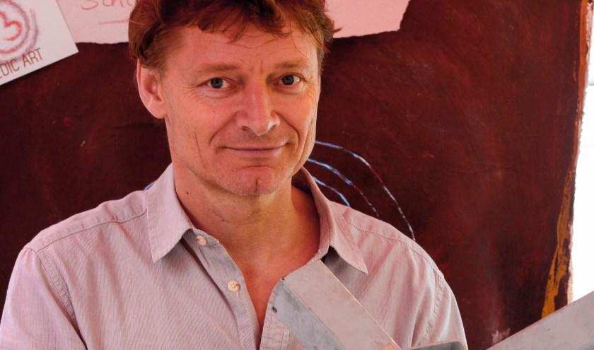Lars Jansen (1961) is beeldend kunstenaar en geldt in de Gelderlandfabriek vooral als ijzerspecialist.