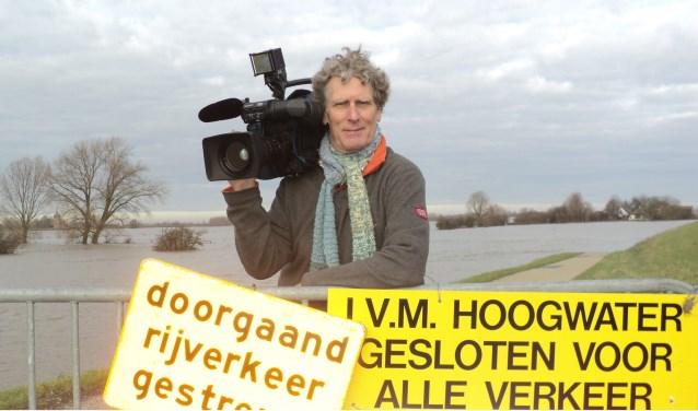 Cineast Jos Kruisbergen heeft een documentaire gemaakt over Heerewaarden. Foto: Thymen Schippers