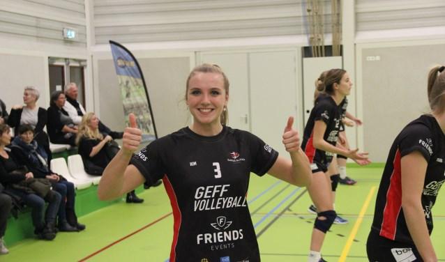 Kim Verkerk stapte na het kampioenschap met Activia 2 deze zomer over naar de hoofdmacht. (persfoto)