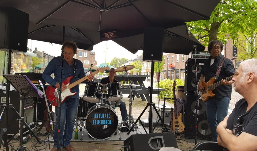 De muziekveteranen van Blue Rebel spelen zaterdag in The Moonshine. (Foto: pr)