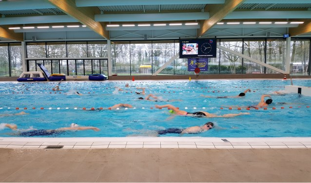 Team 2 trainit in het Sportbad