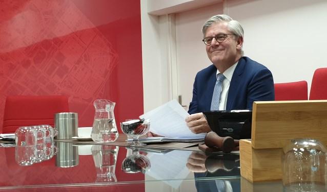 Burgemeester Aptroot kondigde direct na het incident extra maatregelen aan voor het Van Tuyllpark. Foto: Robbert Roos