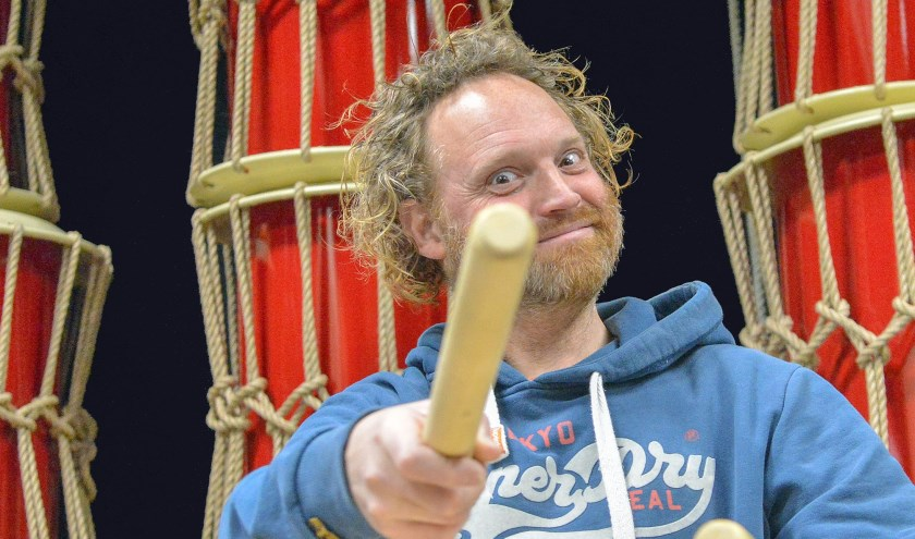 Erwin Oudshoorn is ook na een kwart eeuw nog steeds de inspirator en drijvende kracht achter Slagkragt.