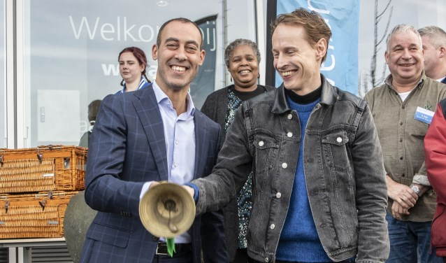 Opening Wellant mbo Rotterdam door wethouder Kasmi en innovator Roosegaarde
