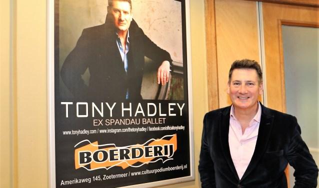 Tony Hadley komt voor een show naar De Boerderij. Foto: Fred Roland