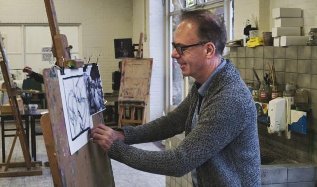 Kaliber Kunstenschool verzorgt een nieuwe cursus tekenen en schilderen voor volwassenen.