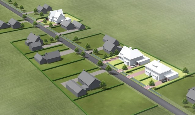 Door herstructureringsproces van de tuinbouw in de Bommelerwaard komen er bouwkavels en woningen vrij.