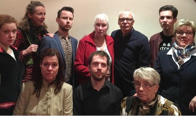 De toneelvereniging Bilderdijk voert binnenkort drie keer het toneelstuk 'Mist' op. Eigen foto.