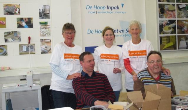 Werkvisie De Hoop locatie Ambachtse Bedrijven is een van de deelnemers. (Foto: Privé)