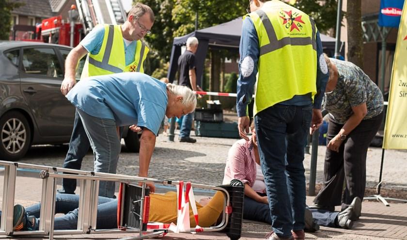 EHBO-vereniging van Sint Anthonis is druk bezig met de toekomst. (foto: Leo Reijnen)