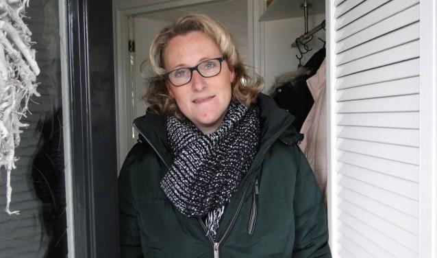 Diana Pul: ''In onze buurt is het redelijk schoon''.