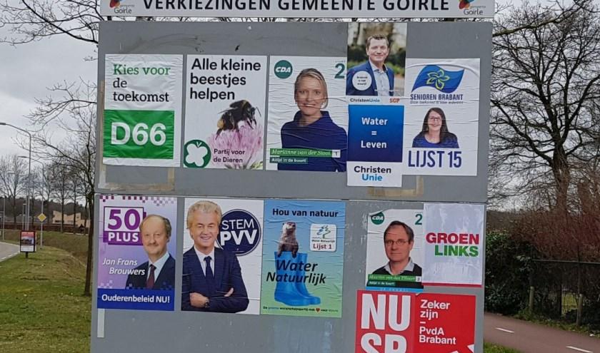 De tien kandidaten van de verschillende politieke partijen mogen zich tijdens de verkiezingsavond voorstellen in een wat een pitch wordt genoemd.