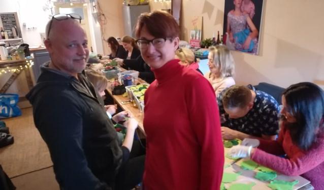 Hun kinderen zijn al weg bij Kleine Kees, maar Werner en Mariska en vele anderen zijn nog steeds nauw betrokken bij kindertheater Kleine Kees.