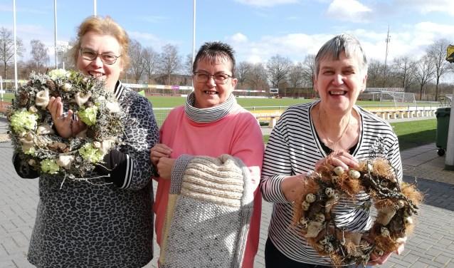 Patricia, Hermie en Ria zien de Open Dag wel zitten.