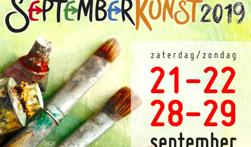 homepage website sptemberkunst.nl