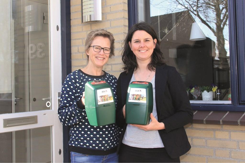 Dorette Wijntje (l) en Trijnie Moraal.