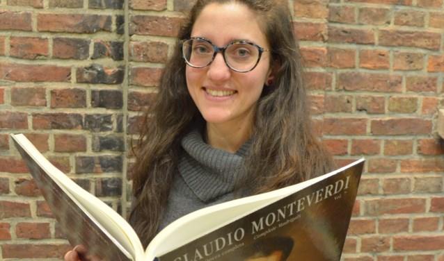Caterina Tabbalione zingt met Ex Arte Italiaanse liederen in Havezate Brecklenkamp. Voor een voorproefje kunnen Enschedeërs naar De Wonne.