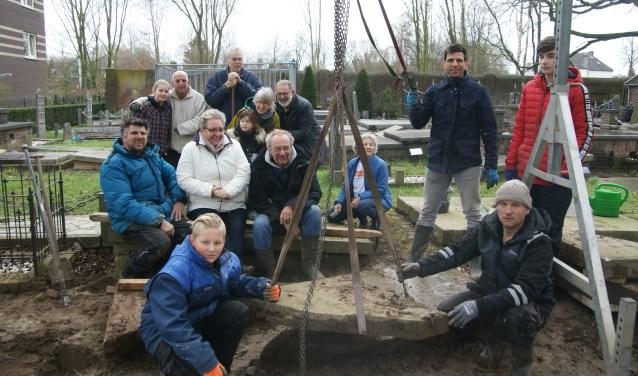 De vrijwilligers op ter Navolging. (Foto: Jan Hogendoorn)