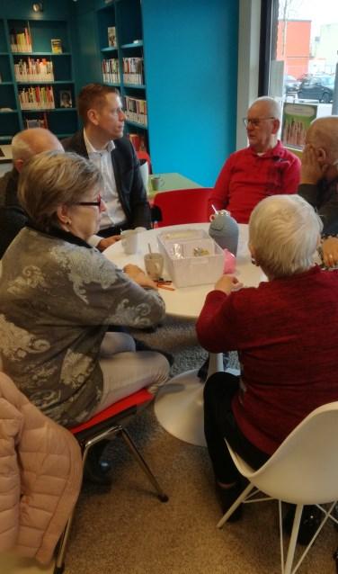 Over diverse zaken spreekt wethouder Horsthuis-Tangelder