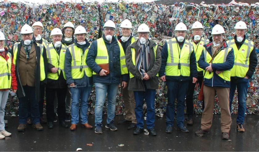 De politieke delegatie bij het Friese OMRIN