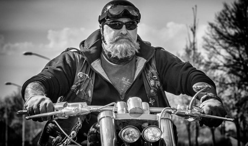 Anders dan zijn bijnaam Scooter, rijdt Jeroen graag motor. Foto: Jeroen van Schaik