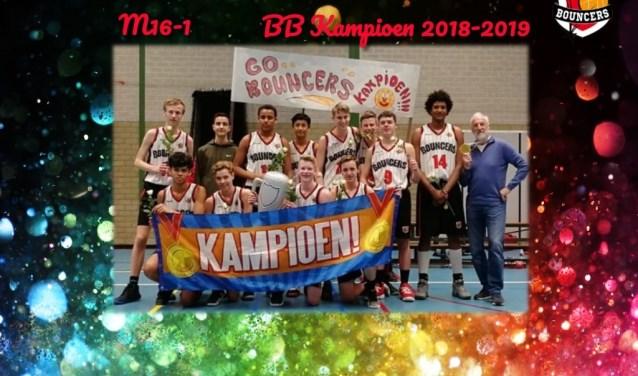 Bouncers Jongens 16 1 kampioen