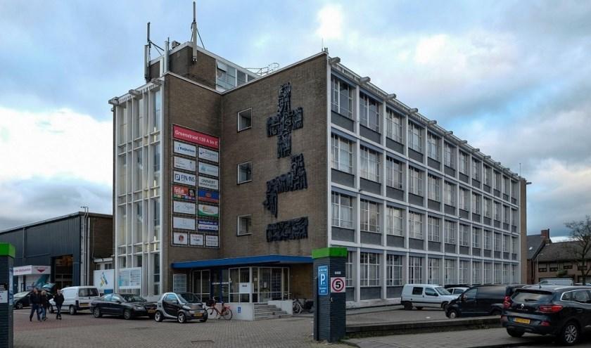 Voormalig hoofdkantoor van N.V. VOLT, onlangs aangewezen als gemeentelijk monument, wordt nu verhuurd als kantoorruimte.