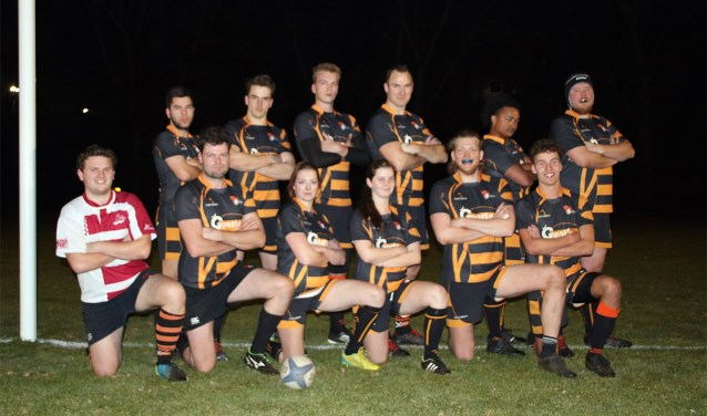 Club van de Week: Rugbyclub Dragons. Eigen foto